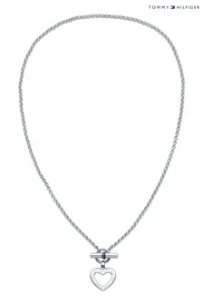 Tommy Hilfiger Ladies Heart Toggle Necklace
