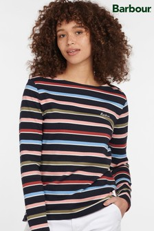 Barbour® Coastal Navy Stripe Hawkins T-Shirt