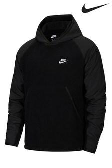Nike Winterized Black Overhead Hoody