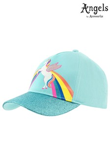 Angels By Accessorize Blue Retro Unicorn Baseball Hat