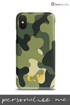 Personalised Camouflage Phone Case by Loveabode