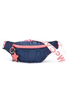 Stella McCartney Kids Girls Navy Belt Bag