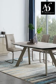 Amalfi Extending Dining Table with 4 Chairs by Alfrank