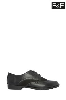 F&F Lace-Up Brogue Shoes