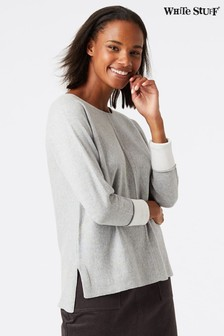 White Stuff Grey Masterful Jumper