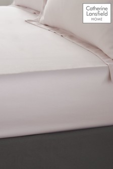 Silky Soft Satin Fitted Sheet by Catherine Lansfield