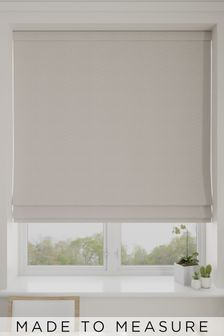 Aria Sand Natural Made To Measure Roman Blind