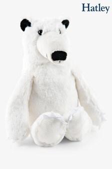 Hatley White Polar Bear Plush Toy
