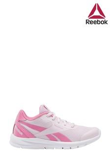 Reebok Run Pink/White Rush Runner Junior And Youth Trainers