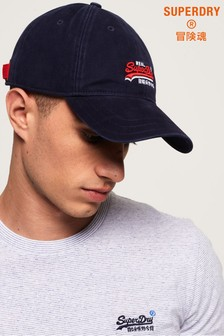 Superdry Orange Label Wash Twill Cap