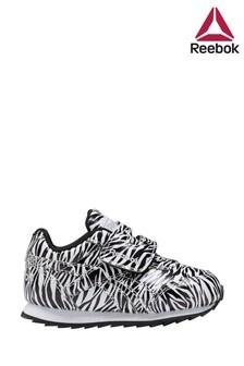 Reebok Zebra Print Jogger Infant Trainers