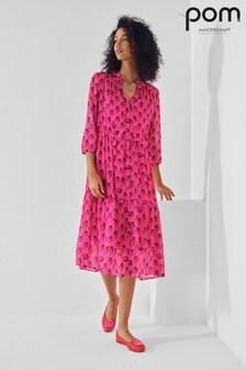 POM Amsterdam Strawberry Dress