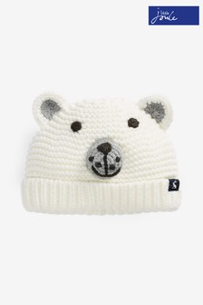 Joules Cream Chummy Hat