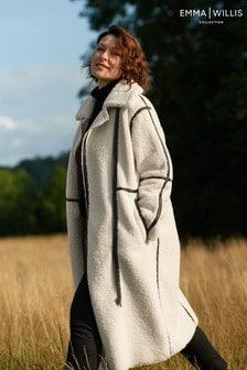 Emma Willis Teddy Borg Coat
