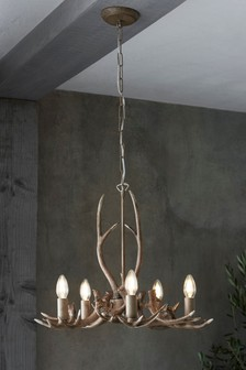 Antler 5 Light Fitting