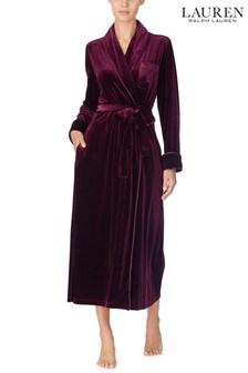 Lauren Ralph Lauren® Wine Velvet Robe