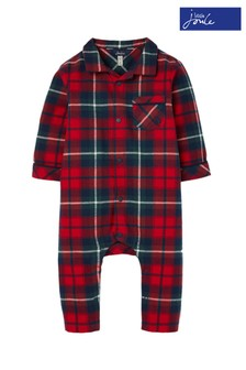 Joules Red Shrty Babygrow