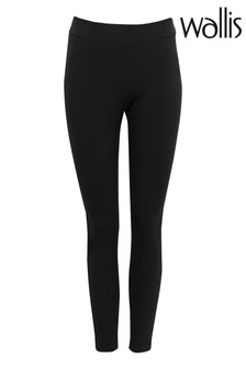 Wallis Black Black Jersey Leggings