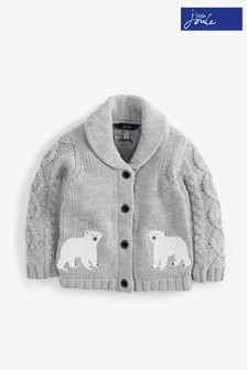 Joules Grey Cardigan