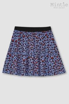 Mintie by Mint Velvet Blue Sia Print Skirt