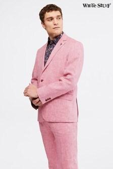 White Stuff Pink Northcote Linen Blazer
