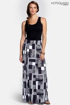 HotSquash Black Box Pleat Maxi Skirt
