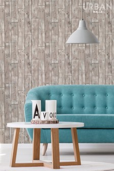 Urban Walls Drift Wood Wallpaper by Urban Walls