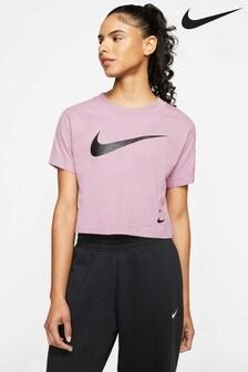 Nike Swoosh Cropped T-Shirt
