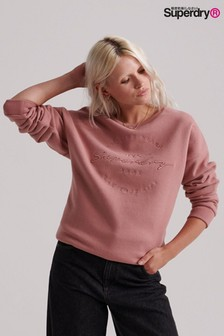 Superdry Appliqué Crew Sweater