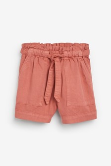 Paperbag Waist Shorts (3-16yrs)