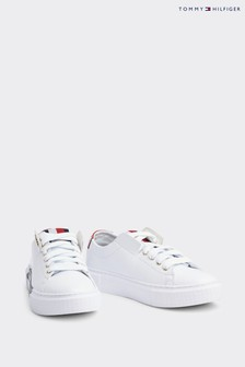 Tommy Hilfiger Leather Elevated Trainers