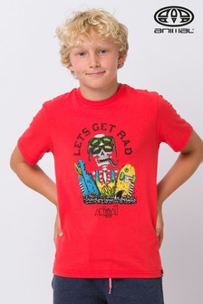 Animal Red Get Rad Graphic T-Shirt