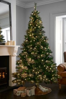 7ft Collection Luxe Lit Christmas Tree