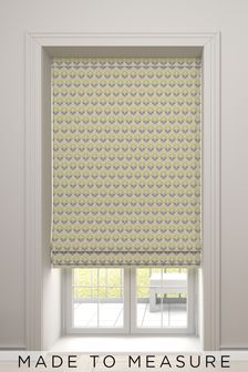 Varese Zest Yellow Made To Measure Roman Blind