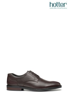 Hotter Eaton Lace-Up Occasion Workwear Shoes