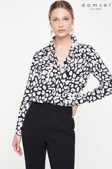 Damsel In A Dress Multi Urban Leopard Blouse