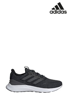 adidas Run Charcoal/White Energy Falcon Trainers