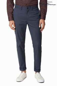 Ben Sherman Navy Signature Slim Stretch Chinos
