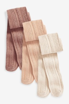 3 Pack Tights (0mths-2yrs)