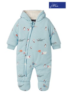 Joules Blue Snug Pramsuit