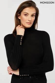 Monsoon Pippa Polo Neck Jersey Top
