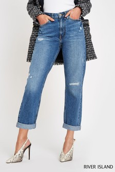 River Island Mid Auth Mom Florida Jeans