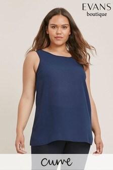 Evans Curve Navy Blue Vest