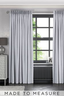 Dove Grey Leta Made To Measure Curtains