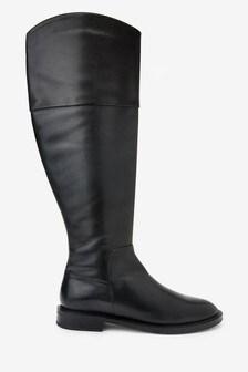 Signature Flat Riding Boots