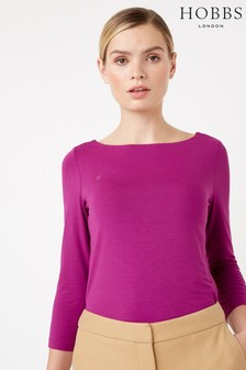 Hobbs Purple Sonya Top