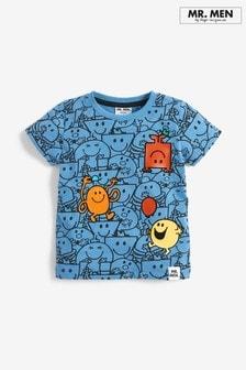 Koszulka we wzór Mr Men (3m-cy-8lata)