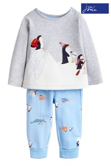 Joules Penguin Pyjama Set