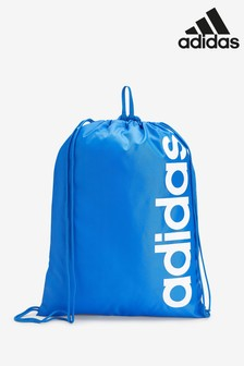 adidas Blue Linear Gym Sack