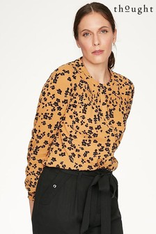 Thought Yellow Jekyll Blouse
